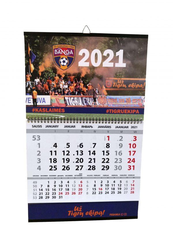 Didelis kalendorius 2021